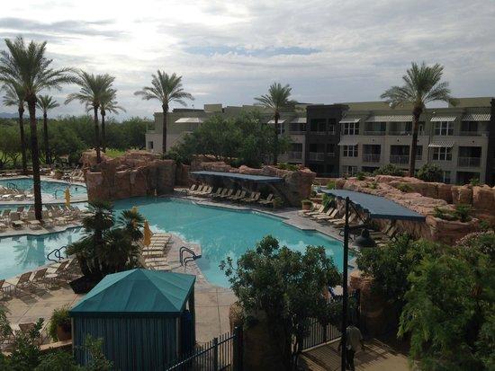 Marriott's Canyon Villas: Pool Area