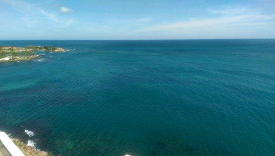 The Condado Plaza Hilton: View from Balcony