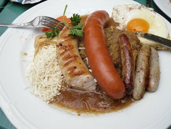 Schwabenbrau: традиционные сосиски