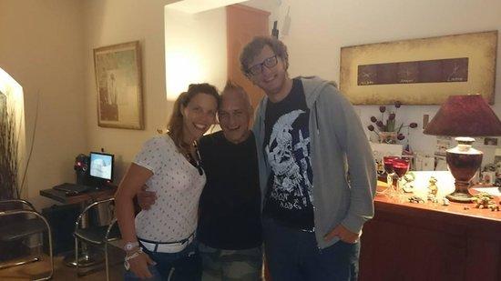 Corfu Andromeda: Roberta, Billy e Andrea