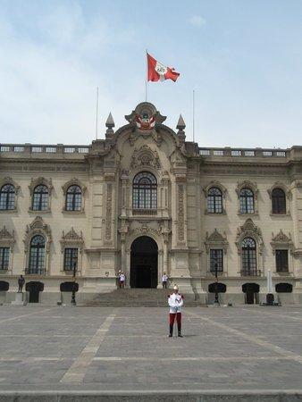 Centro histórico de Lima: Palácio do Governo