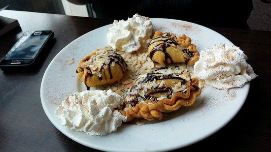 Restauracja Biosfeera: Dessert, 'Sweet Samosas'