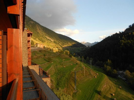 Sport Hotel Hermitage & Spa : Vue du balcon de la chambre