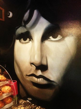 LeLu Coffee Lounge: LeLu Art on wall