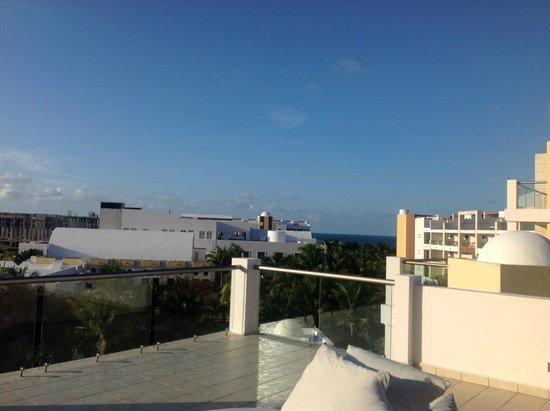 Excellence Playa Mujeres: View from the rooftop suite.