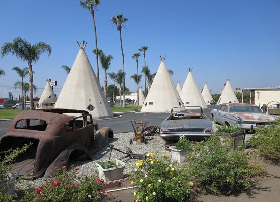 Iconic Route 66 is alive and well at the Wigwam Motel