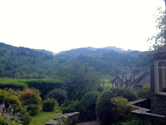 The Lancrigg Hotel: view from the Kitty Crag
