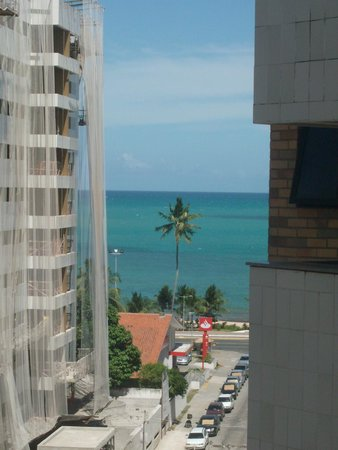 San Marino Maceio: Vista lateral da varanda do quarto