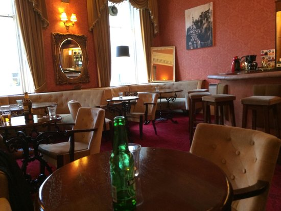 Ritz Edinburgh: The bar