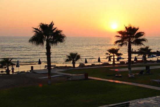 Kefalos Beach Tourist Village: Sunset...beautiful!
