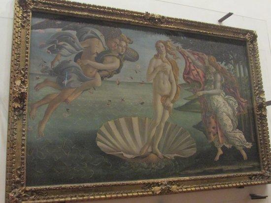 Nascita di Venere - Picture of Uffizi Gallery, Florence - TripAdvisor Da Vinci Paintings