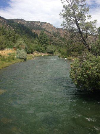 Ridgway State Park: River