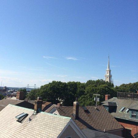 Mill Street Inn: View for breakfast