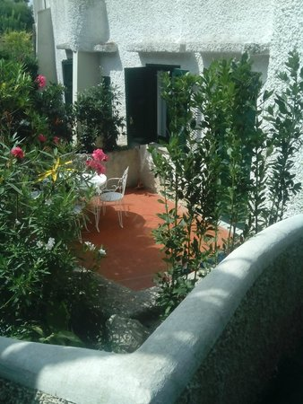 Paradiso Terme Resort & Spa: terrazzino in camera