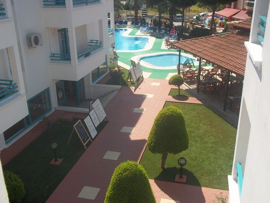 Club Likya Apartments: View from the balcony