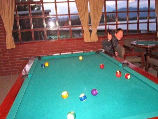 PuertoLago Country Inn: Billiards room