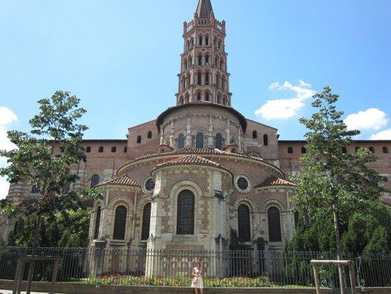 Basilique Saint-Sernin : Exterior