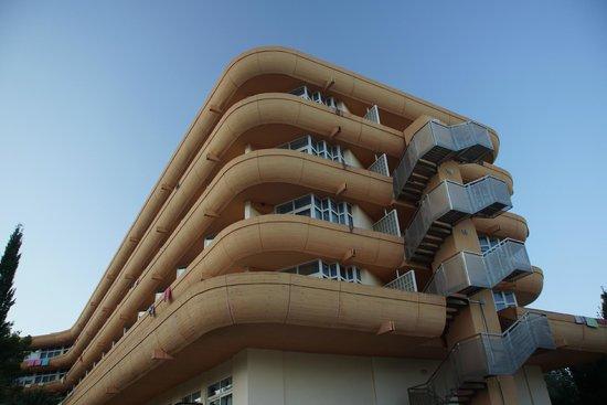 Remisens Hotel Albatros: hotel balkony