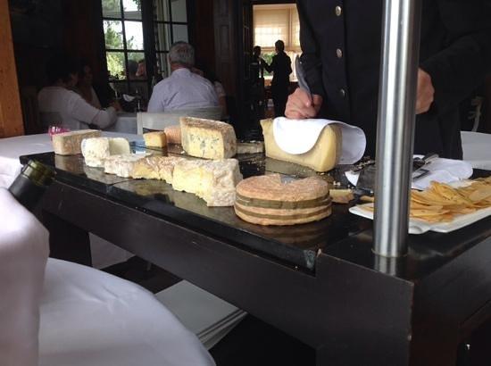 Restaurant le Coquillage : le chariot de fromage