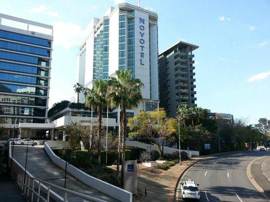 Novotel Brisbane: calm surroundings