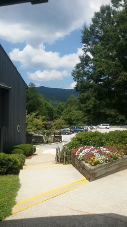 Unicoi State Park & Lodge: This was my office for a week!!