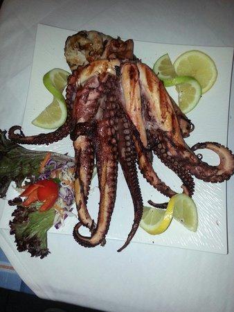 Medusa Restaurant : Octopus. ...