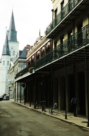 Hotel Provincial : View of St Louis Cathedral, down the street from the hotel