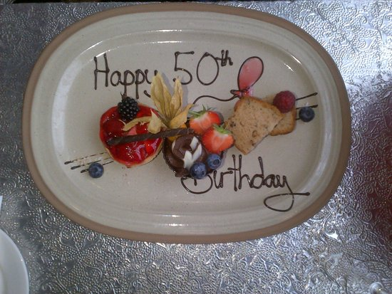 Hilton Liverpool City Centre: Look what the chef did for me... for free... how lovely