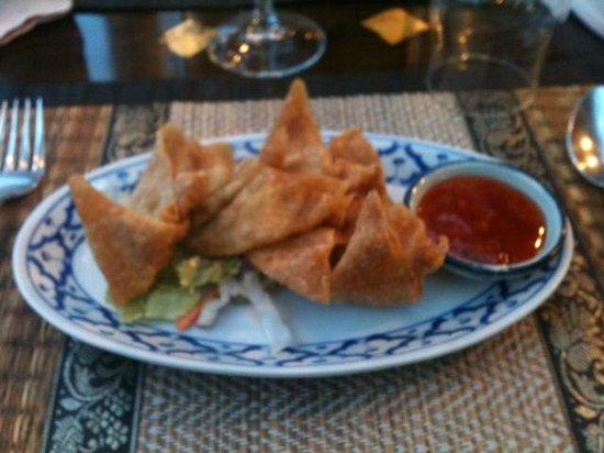 Restaurant Le Mai Thai : Raviolis croustillants