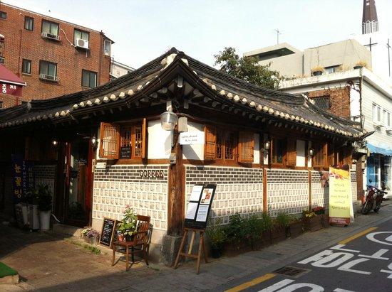 Hanok Cheongdam: Außenansicht
