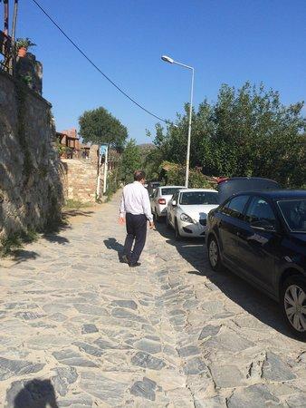 Hotel Sirince Evleri: Ahmet Bey abimiz bizi uğurlarken...
