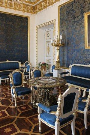 Jussupow-Palast an der Moika: синяя комната