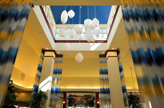 Hilton Garden Inn Ft. Lauderdale SW/Miramar: Skylight in the Lobby