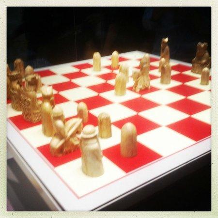 British Museum : chess!
