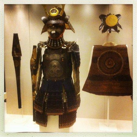 British Museum : samurai warrior