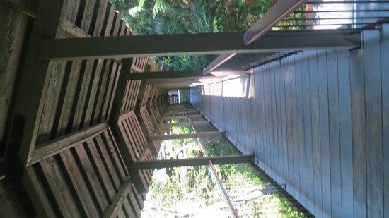 Salishan Spa and Golf Resort: Love Those Covered Walkways!
