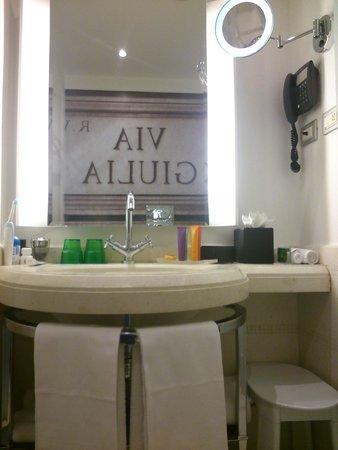 Hotel Indigo Rome - St. George: Cuarto Baño
