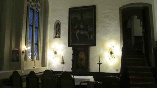 Hotel Burg Colmberg: Chapel within castle