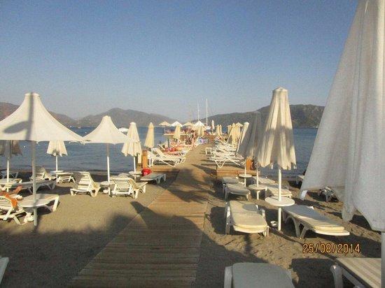 Hotel Cettia Beach Resort: Jetty
