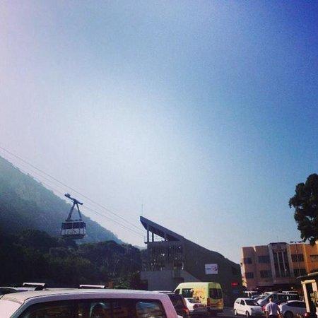 Gibraltar Cable Car : Cable car