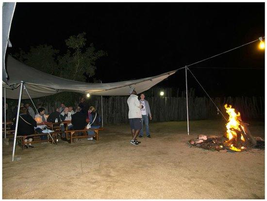 Nkambeni Safari Camp : AU TOUR DU FEU