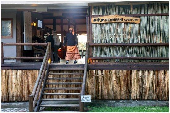Nkambeni Safari Camp : LA RÉCEPTION DU CAMP