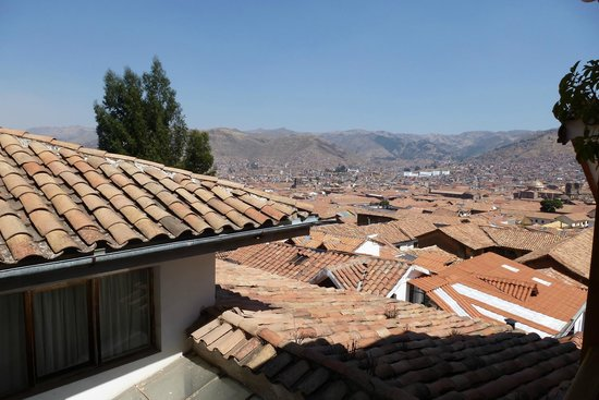 B&B-Hotel Pension Alemana: View of Cuzco