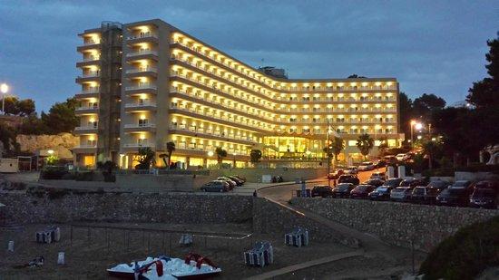 Cala Font Hotel: desde la playa
