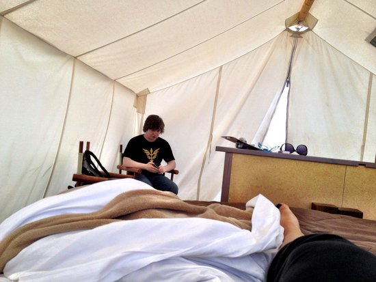Under Canvas Yellowstone : Tent