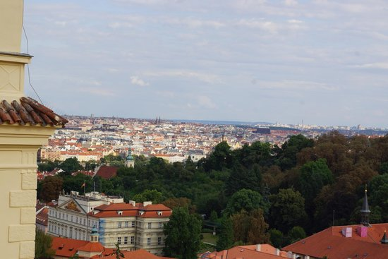 Domus Henrici Boutique Hotel: View over Prague from Room 6