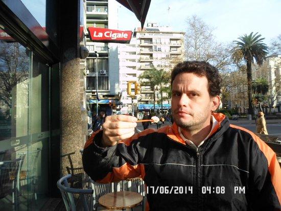 David e o sorvete da La Cigale.