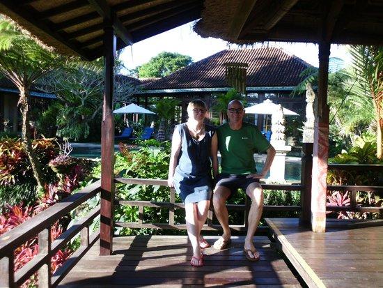 Villa Orchid Bali: Blick vom Bale