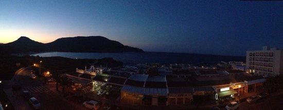 Hotel & Spa S'Entrador Playa: Panoramica dalla mia camera