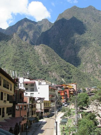 SUMAQ Machu Picchu Hotel: View from our balcony (Rm 2402)
